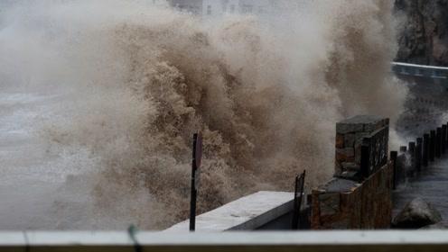 17级台风利奇马究竟有多可怕?镜头实拍重灾区,看完后背发凉