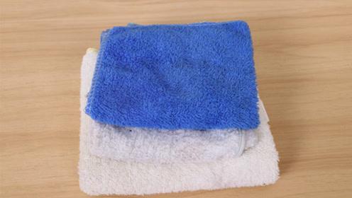 旧毛巾谁还当抹布用,缝一缝挂墙上,特别值钱,邻居见了纷纷学