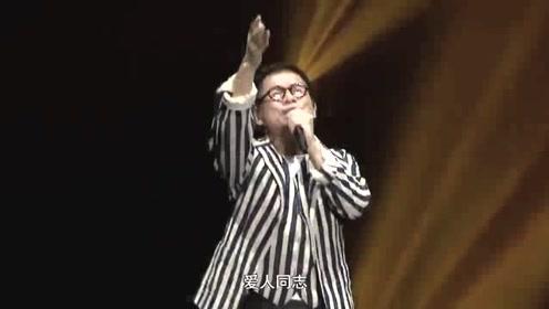 罗大佑现场演唱经典成名曲,歌声中唱出了那个年代的理想和激情!