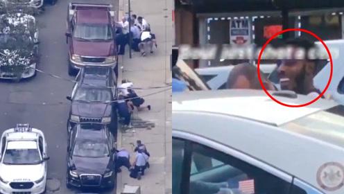 美枪击现场6名警察中枪:枪战30分钟 警察跳门窗撤退