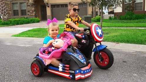 萌娃坐小帅哥的车回家,却把婴儿丢在车上,小帅哥亲自给她送回!