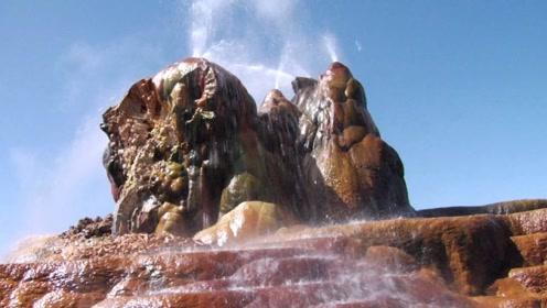 农民凿井喷出94℃热水,闲置百年后发生神奇变化,如今惊艳世界