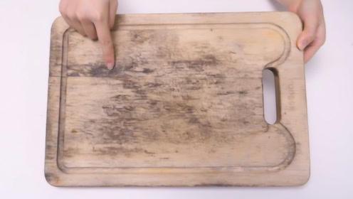 家里菜板总是发霉开裂?教您个诀窍,不发霉不开裂