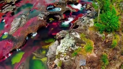 世界上最美的彩虹河,只有素颜才能参观,化妆的女士禁止进入!