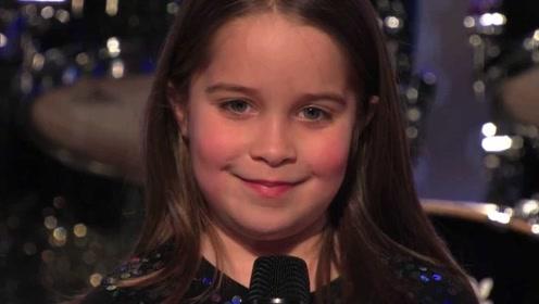 """6岁萝莉达人秀演绎""""僵尸音"""",评委直接吓到灭灯!太恐怖了!"""