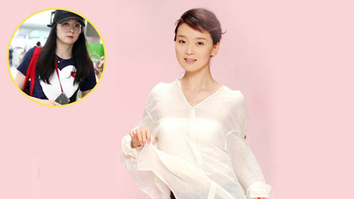 不显老就服王艳,裙裤搭配黑衣比年轻人还嫩,清新大方美的自然