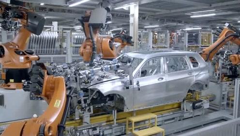 实拍宝马X7在美国德国汽车厂生产线的过程,价格贵是有原因的