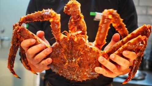 """为什么自助餐的帝王蟹,只有腿?小经理一句话说出""""猫腻""""!"""