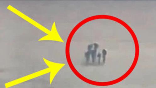 """男子在飞机上拍照,意外发现云上有""""4个人""""!看清后不淡定了"""