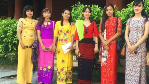 缅甸女人为何喜欢穿筒裙?不只因为漂亮,原来和这个习惯有关!