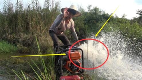 村民们喝百年的井水,花20天将其抽干,看到眼前这一幕疯狂呕吐