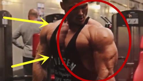 体脂率达到百分之3的男人!肌肉都呈拉丝状,简直不敢相信!
