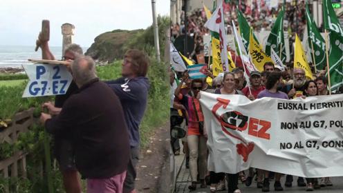 法国开G7峰会要烧掉3千万欧?抗议者:开个民间反G7峰会吧