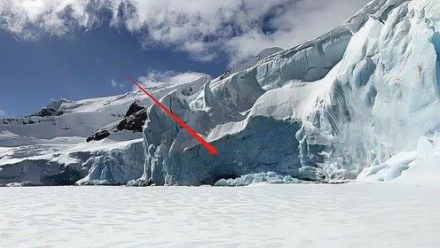 """南极冰层乍现""""史前怪物"""",科学家瞬间凌乱,网友:我们被监视了"""