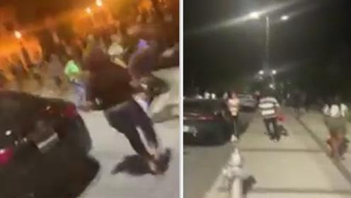 美亚特兰大一大学附近遭枪手扫射致4人受伤 枪响后学生仓皇逃窜