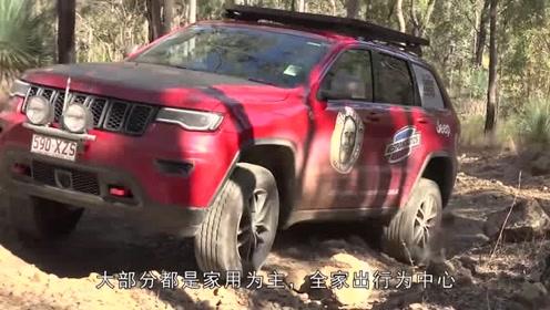新买的Jeep自由光,开出来试了试,越野性能不错