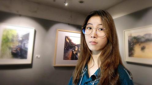 朱家角古镇:上海画家用水彩画记录老上海风貌,名声享誉海内外!