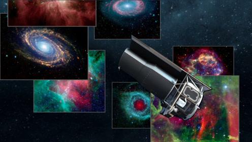 哈勃望远镜拍摄的那些美到窒息的宇宙图像,在斯皮策眼里什么样?
