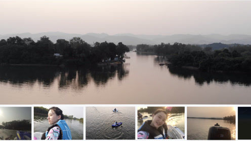 开着五菱之光跑几十公里去划船 看盆地人是怎么自带小船玩水的