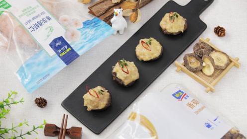 独具匠心的鲜虾酿香菇,鲜甜嫩滑超美味!