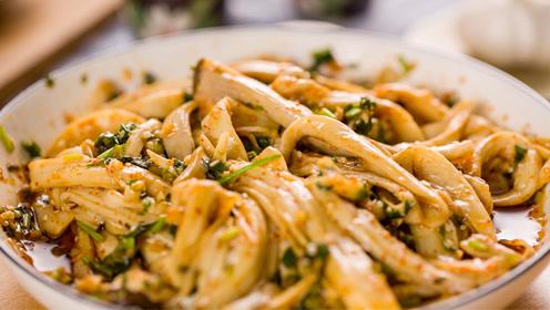 凉拌金针菇,巨好吃巨开胃的米饭杀手!
