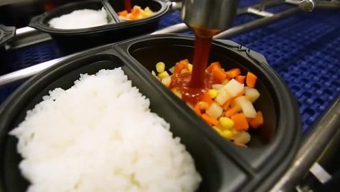 揭秘日本工厂自动化生产快餐,看完你还想吃吗?