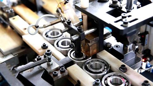 轴承制造全过程竟是这样,终于知道钢珠是怎么进去的,太神奇了!