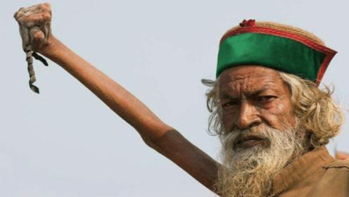 印度最牛保安站立33年不动,谁让他动就奖励1万,却无人能做到