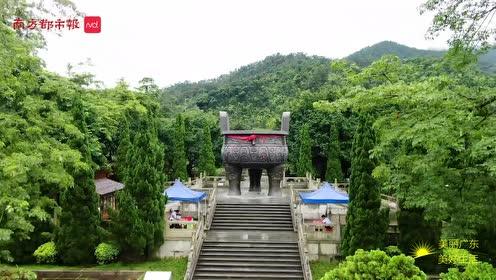 70秒云上瞰广东肇庆:千年古城,一山一水皆写意
