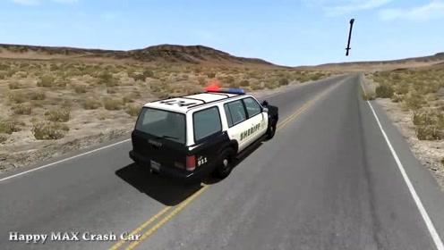 汽车驾驶游戏:比蒙驾驶汽车与警车