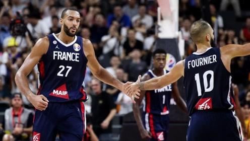 篮球世界杯法国十佳球 戈贝尔排球血帽阿尔比希三分杀死比赛