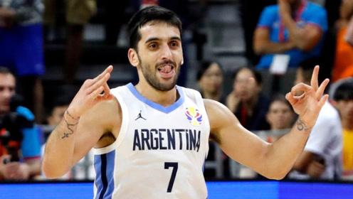 太强了!阿根廷1米78控卫坎帕佐个人剪辑