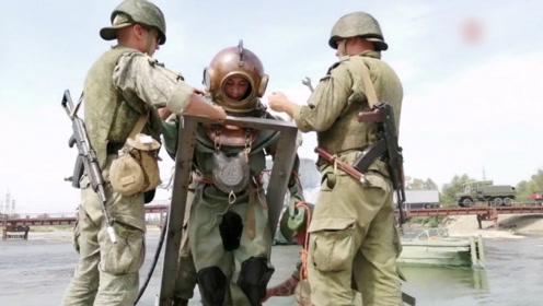空地协同、潜水员出击!俄军演练战场抢修大桥