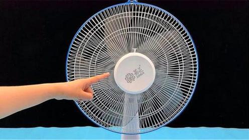 不管电风扇有多脏,教你不用擦不用拆,几分钟干净如新,太厉害了