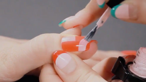 指甲油长得真的太像彩色水彩笔了,怪不得小孩都喜欢!