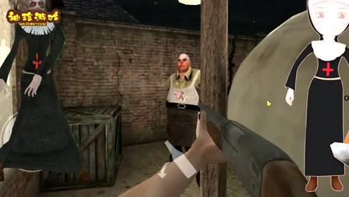 恐怖屠夫:为逃脱家人逼婚!躲到屠夫的猪圈,没想到被猪拱死!