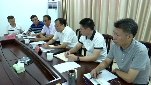县委书记吕国健接待信访群众