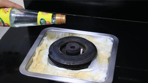 抓紧在燃气灶上倒点白醋,10个家庭里有9个需要,不学太亏了!