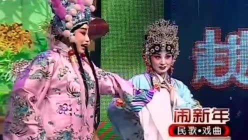 """《小宴》选段,刘佳丽、瞿丽美表演,戏曲""""高难度技巧""""惊艳四座"""