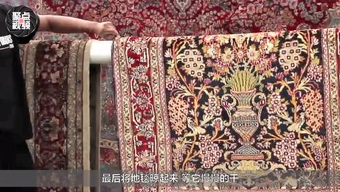 为什么中国人很少用地毯?看老外清洗过程,网友:吓得我赶紧退了