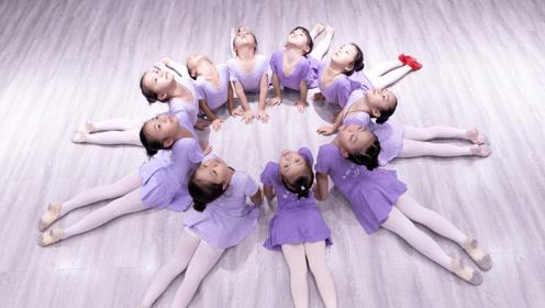 少儿中国舞《亲爱的爸爸妈妈》学员课堂练习