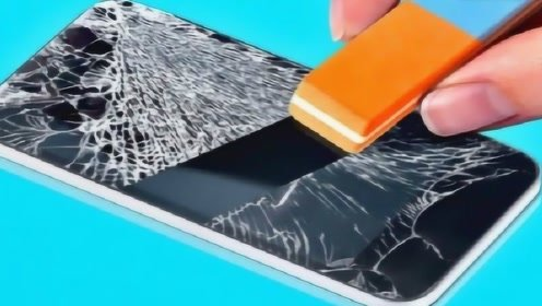 """日本发明火了,这项黑科技,让手机碎屏""""破镜重圆"""" 自动修复"""