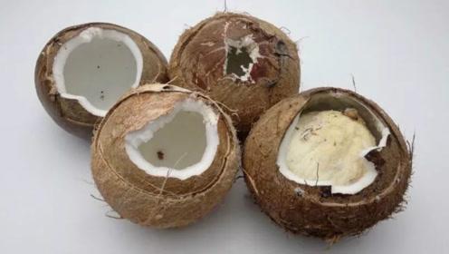 椰子不只是可以喝汁,还有这几种巨好吃的做法,好多人都没试过