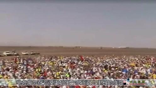 撒哈拉沙漠马拉松每年1000多人来参赛还要交搬尸费17000