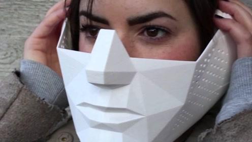 """大学生发明""""超能力""""面具,戴上就拥有超常视听能力,秒变超人"""