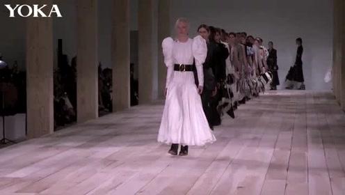 2020春夏巴黎时装周ALEXANDER MCQUEEN秀