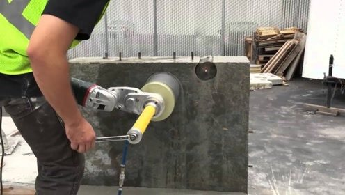 美国发明墙体钻孔机,8秒就能打一个孔,太厉害了!