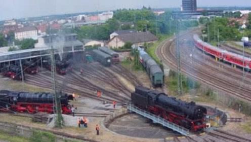 坐了这么多年火车,这才发现火车是这样掉头的,多年疑惑已被解开