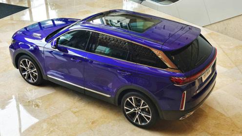 一汽4.8米SUV将上市!带日系萌妹。2.0T发动机超宝马!