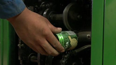 废旧易拉罐如何翻新?男子发明易拉罐切割机,切割展平一步到位